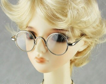 New fashion Dolls Glasses fit 1/3 BJD SD Super Dollfie  Silver