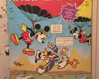 Vintage Reproduction-Mickey Mouse and Donald Duck Gag Book 1950's