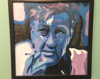 David Lynch - 12 x 12 Acrylic Fan Art Painting