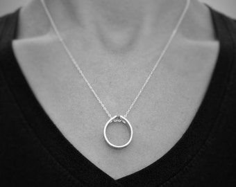 Custom Stamped Coordinate Pendant with Sterling Silver Chain, Stamped aluminum Pendant, 16 or 18 inch chain, Long Distance, GPS, Anniversary