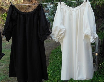 Renaissance Chemise Peasant Blouse Womens XS - XLg Custom Made