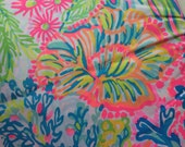 Lilly Pulitzer Lovers Coral fabric