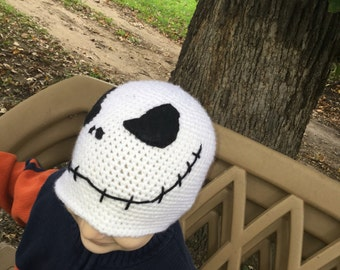 Skull Cap -- toddler size 2-5 years