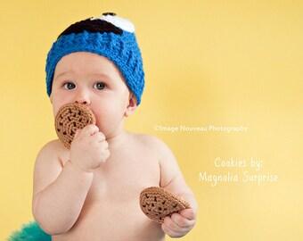 Chocolate Chip Cookies Play Food, Crochet Pretend Food, Preschool Play Cookie, Montessori Imaginative Play, Bakery Play Dessert, Set of 3