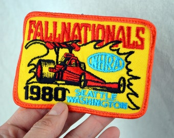 Vintage NHRA Hot Rod Patch - Seattle Washington