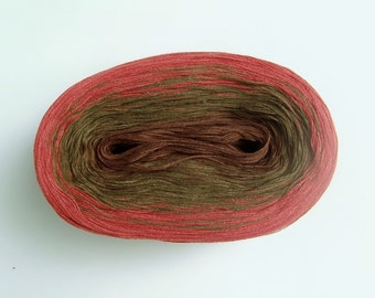 POMME II  Color Changing Cotton yarn  480 yards/100 gr  Fingering Weight