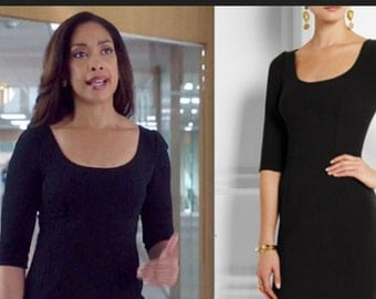 SIMPLE scoop neck new pencil shape dress custom made all sizes
