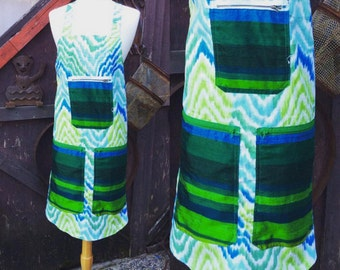 Cool Colors Apron