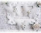 Shabby Vellum Butterfly Embellishments for Scrapbooking, Cardmaking, Altered Art, Tag Art, Mini Album, White