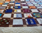 """Reserved for Amanda Pabon - Quilts Made from Baby Clothes Full Size 82"""" x 87"""" (40 to 50 Clothing Items) - BALANCE LISTING (50%)"""