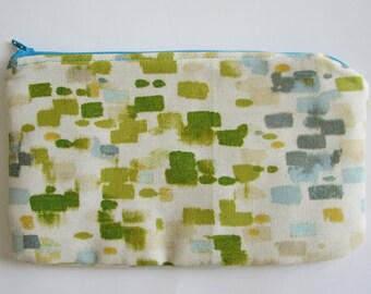 Pencil Case, Zipper Pouch, Cosmetic Bag, Clutch Purse, Padded