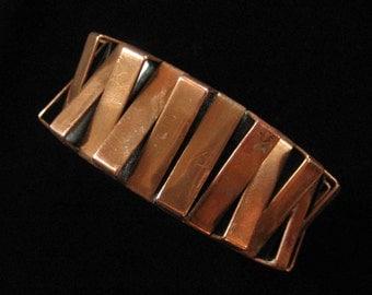 Renoir Dimensional Sculptural Cuff Bracelet