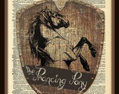 Buy Any 2 Prints get 1 Free Prancing Pony Tavern Lord Of the Rings Vintage Dictionary Art