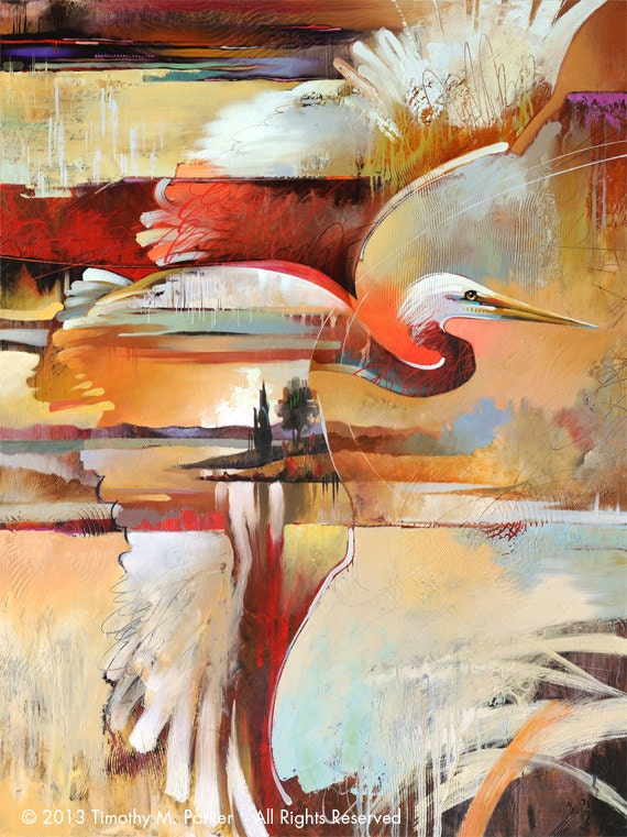 Bird paintings modern - photo#7
