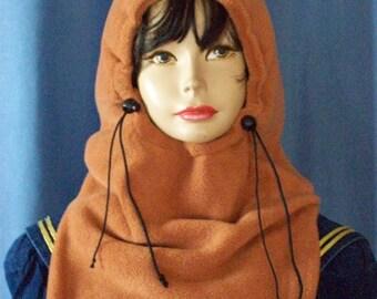 CINNAMON Brown Balaclava - Fleece Balaclava - Ski Mask - Ski Masks - Balaclava Mask - Women - Mens Balaclava - Balaclava - Kids - Chapeau