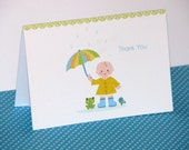 Baby Shower Thank You Notes, Baby Sprinkle, Thank You Cards PRINTED