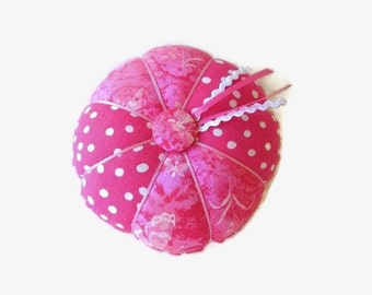 Pink Pincushion - Pink Needle Holder - Pin Cushion - Sewing Accessory
