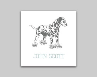 Dalmation Calling Cards or Stickers