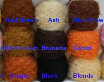 Wild Brushable Mohair -  50g