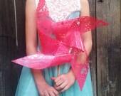 Pink Lace Pinwheel by Rule42