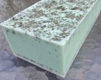 Rosemary Mint Soap Loaf