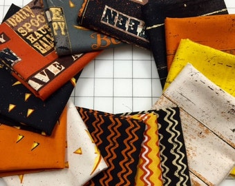 Jeepers Creepers Fat Quarter Bundle by Dan DiPaolo Halloween FAT Quarter Bundles
