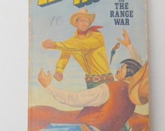 Antique Gene Autry Book . The Range War . Nice shape . 1940's