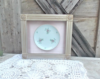 Shadow Box Plate Picture Frame