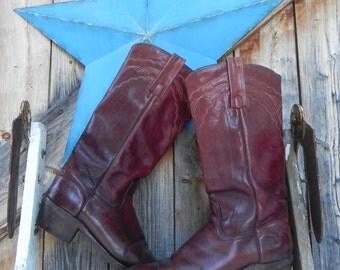 Frye boots, 1970's, men's size 8 1/2