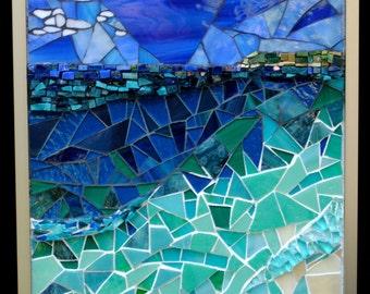 Paradise Mosaic Wall Art Piece by Brenda Pokorny  MOW1028