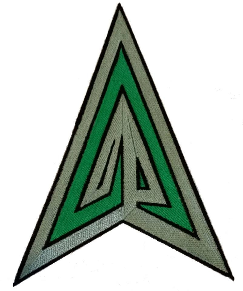 Green Arrow Inspired Embroidery Icon Patch For Your Diy