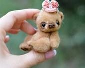 PRE-ORDER - May 2017 - artist miniature mini plush bear by TSminibears