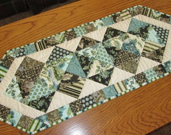 Majestic Palm Court Quilted Table Runner Benartex Fabric