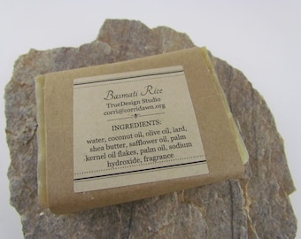 Basmati Rice Handmade Soap
