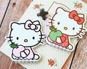Hello Kitty Cat Shape Mini Spiral cartoon notebook