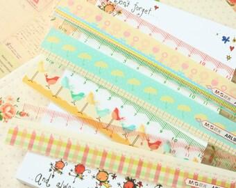 Cartoon Pastel Pocket Ruler