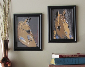 horse lover wall art - set of 2 - Close Ups