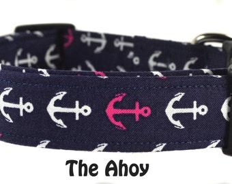 Nautical Dog Collar - The Ahoy