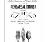 Custom Rehearsal Dinner Invitation for Lydia (20) JPress Designs, wedding, invitation
