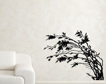Branches Wall Decals Removable Wall Stickers