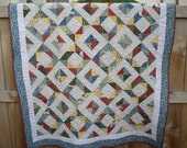 Home Again Lap Quilt - Patchwork Country Chic
