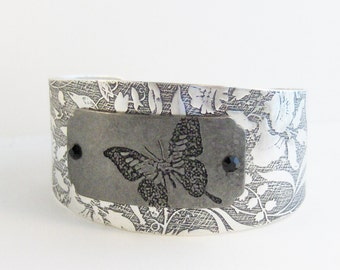 Wild Butterfly,Butterfly,Butterfly Cuff,Butterfly Bracelet, STeampunk Bracelet,SteampunkBracelet,Bracelet,Gypsy Bracelet.valleygirldesigns.