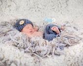 Newborn Outfit and Fringe Blanket, Basket Filler For Newborn Photos,  Photo Prop Set For Newborn Boy,Photo Prop Fringe Blanket For Boys