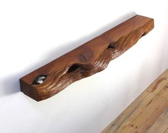 Mantel Floating Shelf Open Shelves Live Edge Wood Slab