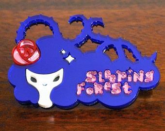 Air Gear Sleeping Forest Pin Badge