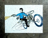 ArtCrank Spock - hand pulled screenprint poster