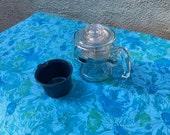 "Vera Blue Floral Tablecloth - oblong 59.5"" x 78"""