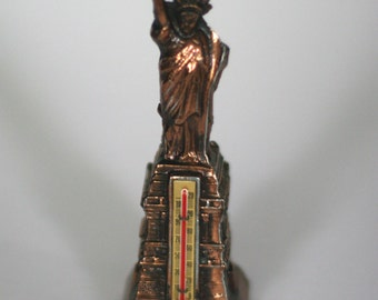 vintage statue of liberty thermometer