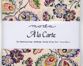 "A La Carte by American Jane for Moda - 100% Cotton - 42 / 5"" Square Charm Pack"
