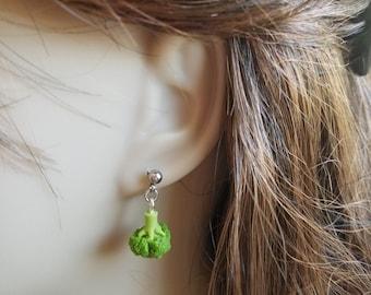 Vegan Makayla's Broccoli Earrings